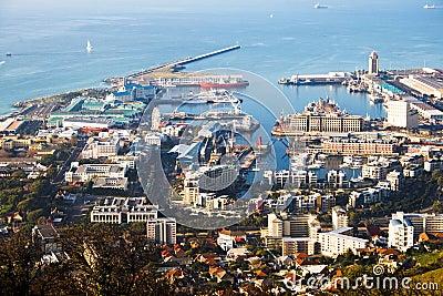 Harbor of Cape Town