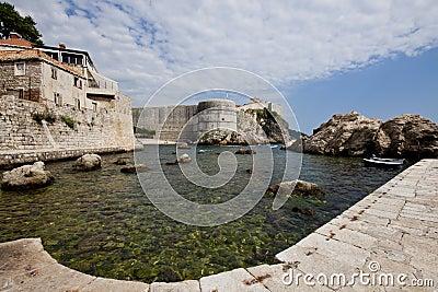 Harbor of Dubrovnik