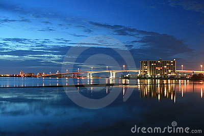 Harbor At Dusk Royalty Free Stock Photo - Image: 14222505