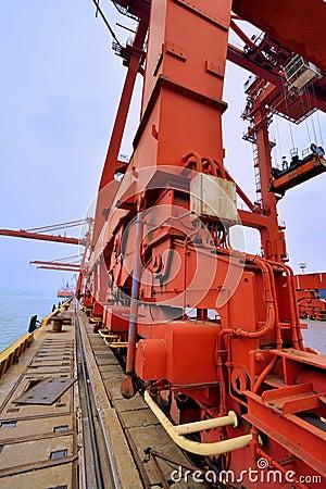 Harbor heavy equipment