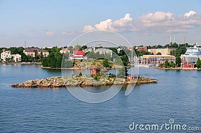 Harbor of Helsinki, Finland