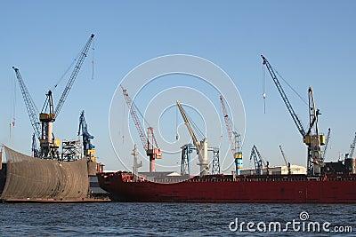 Harbor Industry Cranes