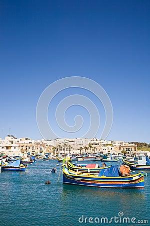 Harbor, Marsaxlokk, Malta