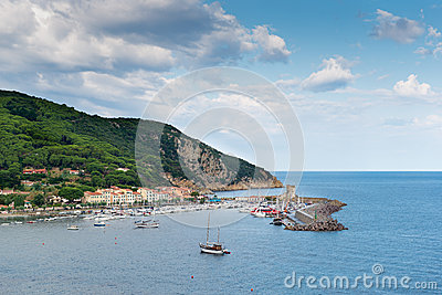 Elba Harbor Stock Photo - Image: 62227787