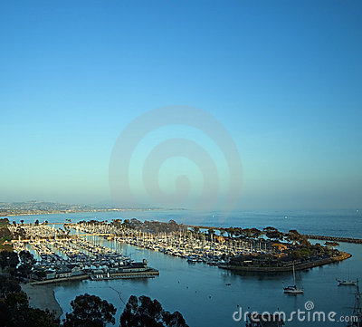 Free Harbor Sunset, Dana Point California Royalty Free Stock Photo - 9421885