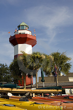 Harbor Town Lighthouse in Hilton Head
