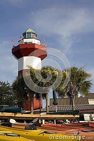 Harbor Town Lighthouse in Hilton Head