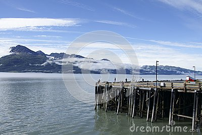 Harbor in Valdez