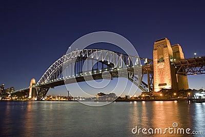 Harbour Bridge - Night Skyline
