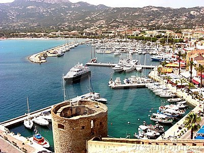 Harbour of Calvi