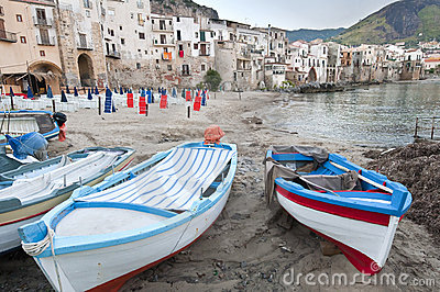 Cefalu old city, Sicily