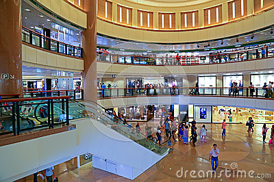 Harbour city shopping mall, hong kong Editorial Stock Photo