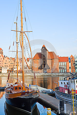 Harbour of Gdansk