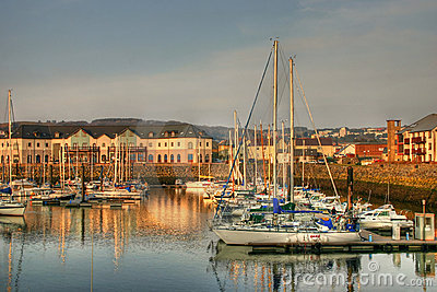 Harbour in hdr