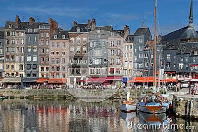 Harbour in Honfleur, France