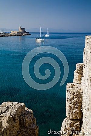 Harbour & Lighthouse St.Nicholas, Rhodes