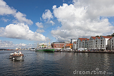 Harbour of Stavanger, Norway.