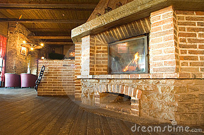 Harbour Tavern Fireplace