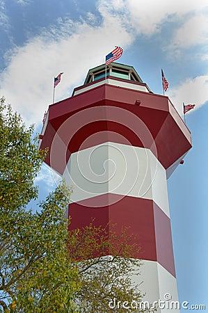Harbour Town Lighthouse on Hilton Head Island