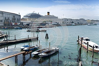 Harbour Tronchetto - Venice Editorial Photo