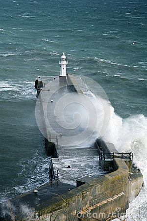 Free Harbour Wall, Mevagissey Royalty Free Stock Photography - 30014437