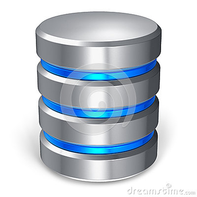 Free Hard Disk And Database Icon Stock Image - 25070551