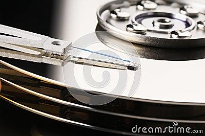 Hard disk backround