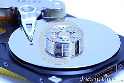 Hard disk detail