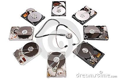 Hard disk diagnosis