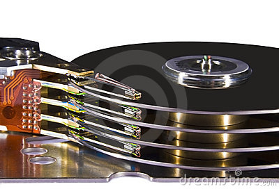Hard disk drive - magnetic heads