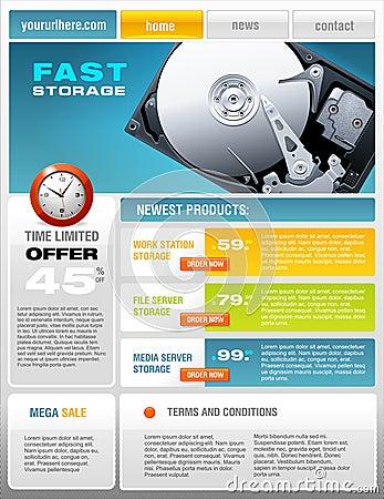 Hard Disk promotional brochure