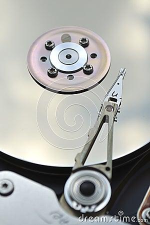 Hard drive fragment