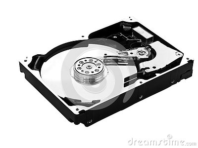 Hard-Drive Top Right View
