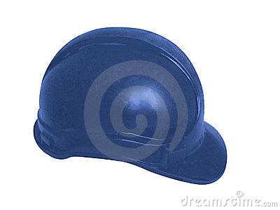 Hard hat in blue