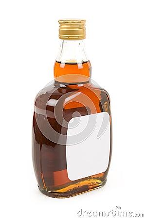 Hard Liquor Bottle