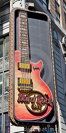 Free Hard Rock Cafe Stock Image - 19186621