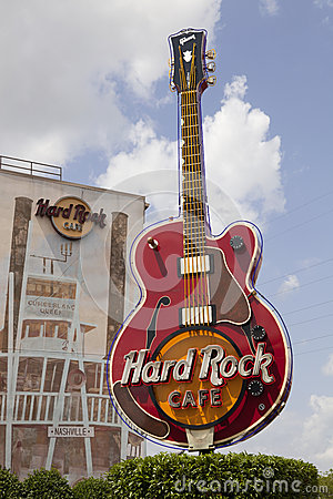 Hard Rock Cafe Editorial Image