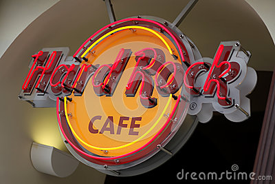 Hard Rock Cafe Editorial Photo
