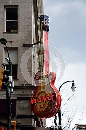 Hard Rock Cafe Atlanta, Georgia Editorial Photography
