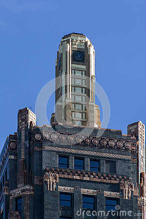 Hard Rock Cafe Hotel  in Chicago Editorial Photography
