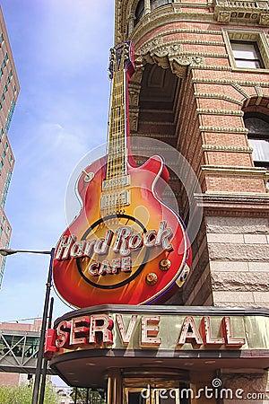 Hard Rock Cafe, Philadelphia Editorial Image
