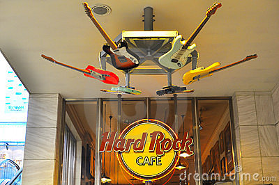 Hard rock cafe - ueno station , tokyo , japan Editorial Photo
