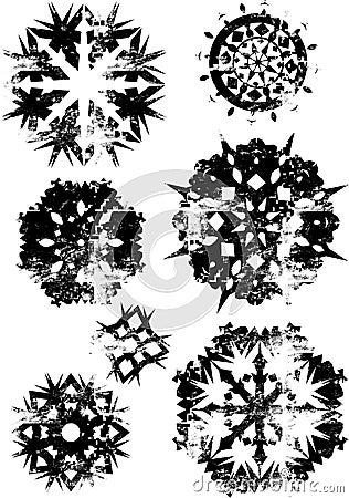 Hard snowflakes