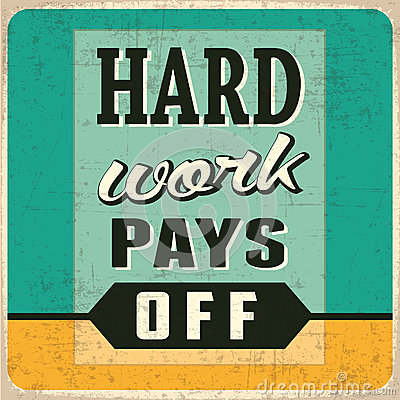 Free Hard Work Pays Off Stock Image - 46291581