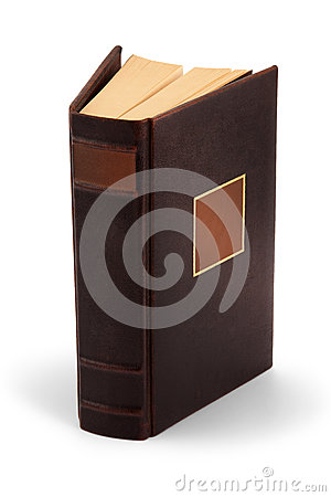 Hardcover book-clipping path