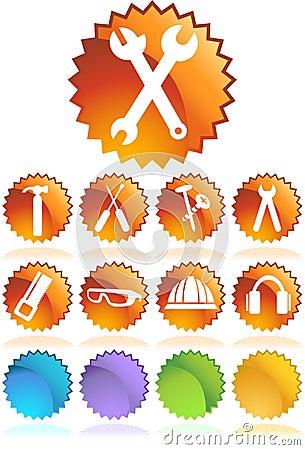 Hardware Icon Set: Seal Web Button Series