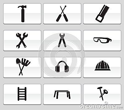 Hardware Icon Set: Web Button Series