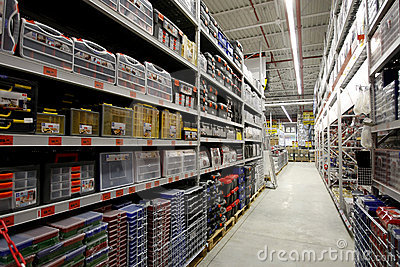 Hardware store interior Editorial Photography