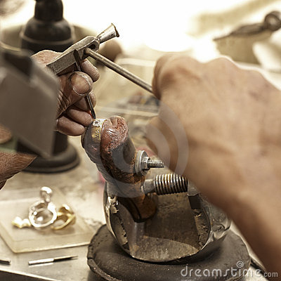 Hardworking Goldsmith