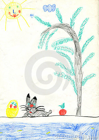 Hare and apples